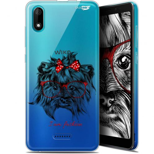 "Coque Gel Wiko Y60 (5.45"") Extra Fine Motif - Fashion Dog"