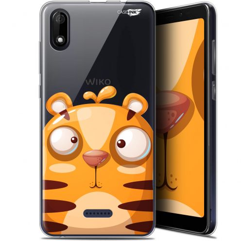 "Coque Gel Wiko Y60 (5.45"") Extra Fine Motif - Cartoon Tiger"