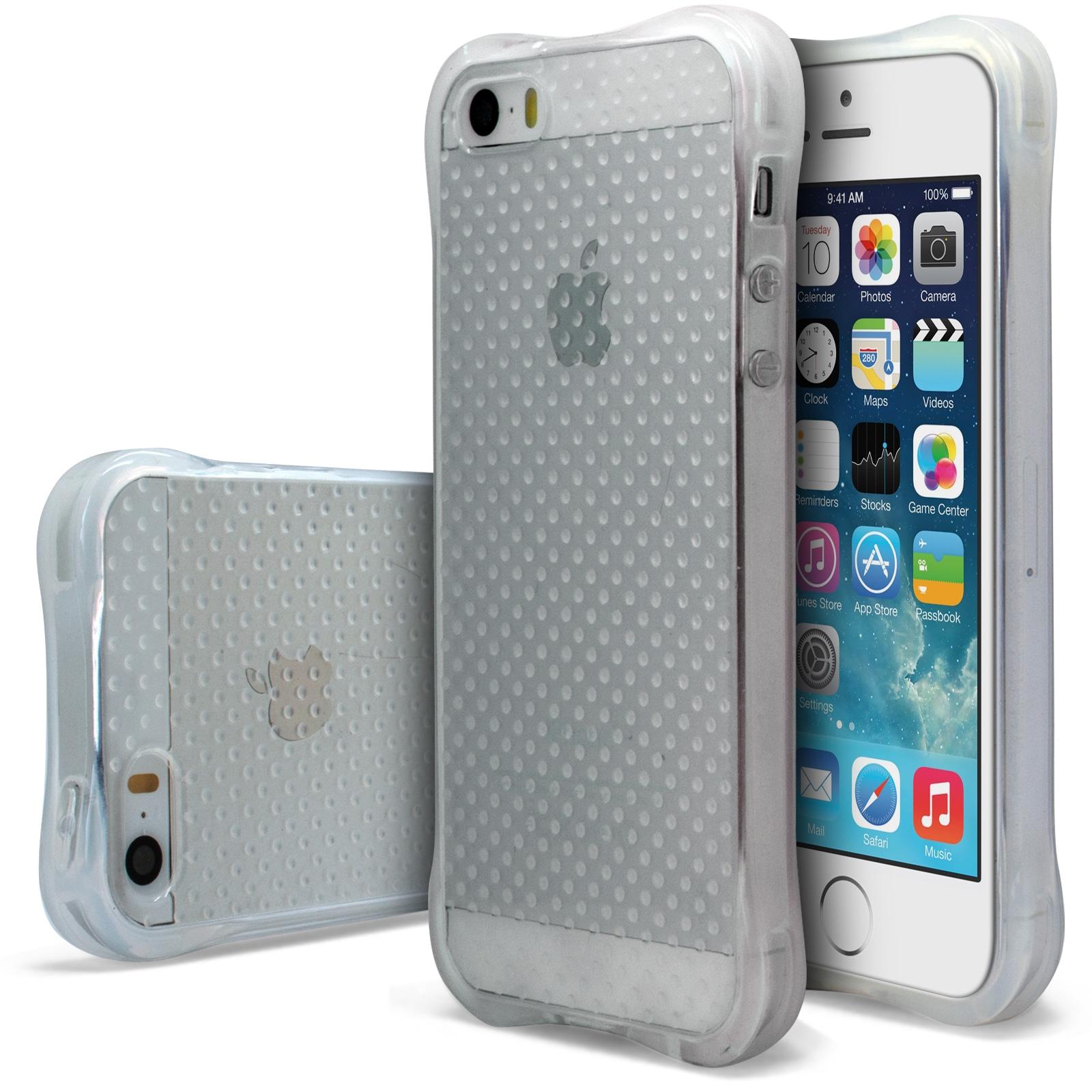 coque apple iphone se 5 5s antichocs souple safeguard crystal. Black Bedroom Furniture Sets. Home Design Ideas