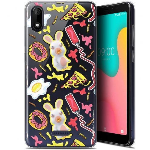 "Coque Gel Wiko Y60 (5.45"") Extra Fine Lapins Crétins™ - Egg Pattern"