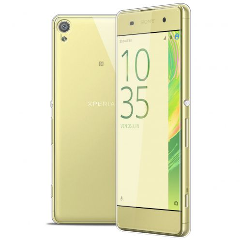 Coque Sony Xperia XA Extra Fine Souple Gel Crystal Clear