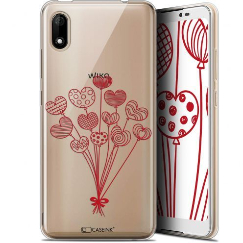 "Coque Gel Wiko Y70 (5.99"") Extra Fine Love - Ballons d'amour"