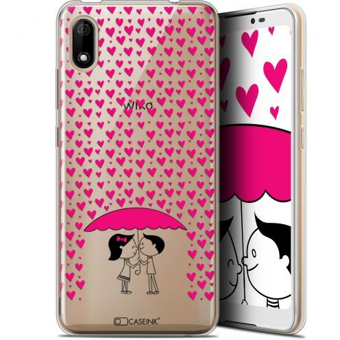 "Coque Gel Wiko Y70 (5.99"") Extra Fine Love - Pluie d'Amour"