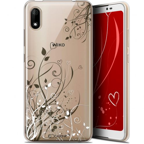 "Coque Gel Wiko Y70 (5.99"") Extra Fine Love - Hearts Flowers"