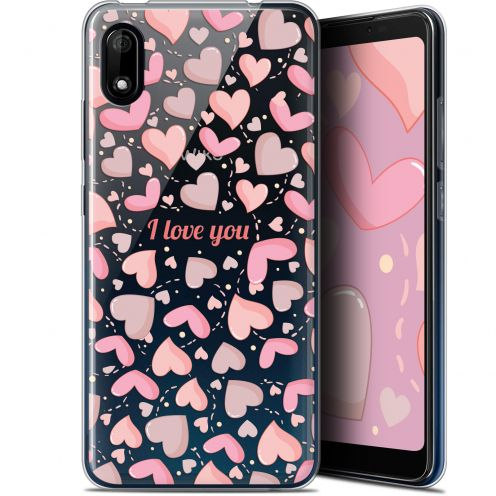 "Coque Gel Wiko Y70 (5.99"") Extra Fine Love - I Love You"
