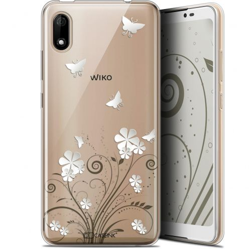"Coque Gel Wiko Y70 (5.99"") Extra Fine Summer - Papillons"