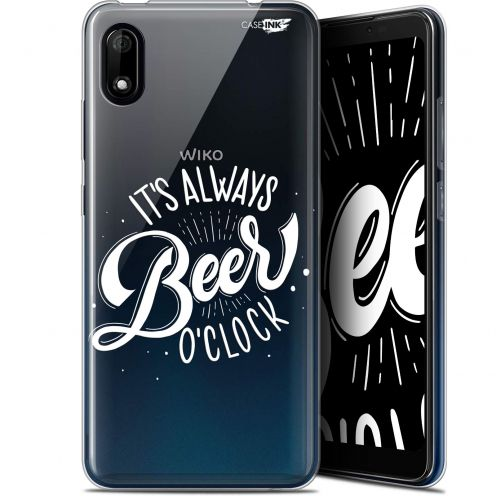 "Coque Gel Wiko Y70 (5.99"") Extra Fine Motif - Its Beer O'Clock"