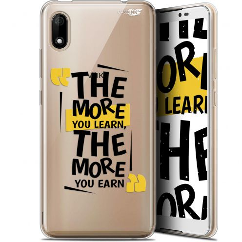 """Coque Gel Wiko Y70 (5.99"""") Extra Fine Motif - The More You Learn"""