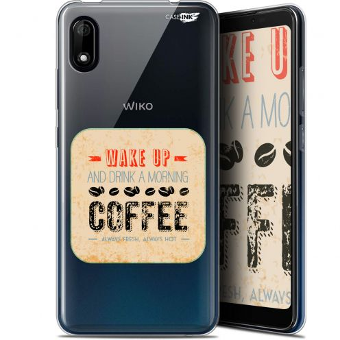 """Coque Gel Wiko Y70 (5.99"""") Extra Fine Motif - Wake Up With Coffee"""
