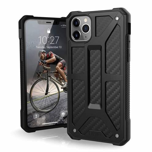 Coque Antichoc Apple iPhone 11 Pro Max Urban Armor Gear® UAG Monarch Carbon
