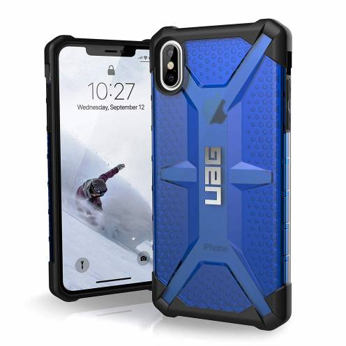 Coque Antichoc Apple iPhone XS Max Urban Armor Gear® UAG Plasma Bleu / Transparent