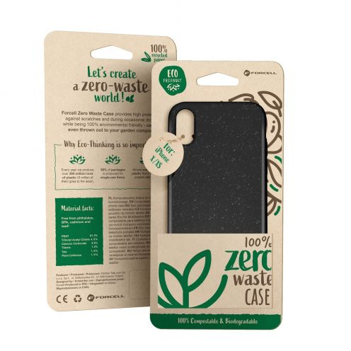 Coque Biodégradable ZERO Waste Huawei Y5 2019 Noir