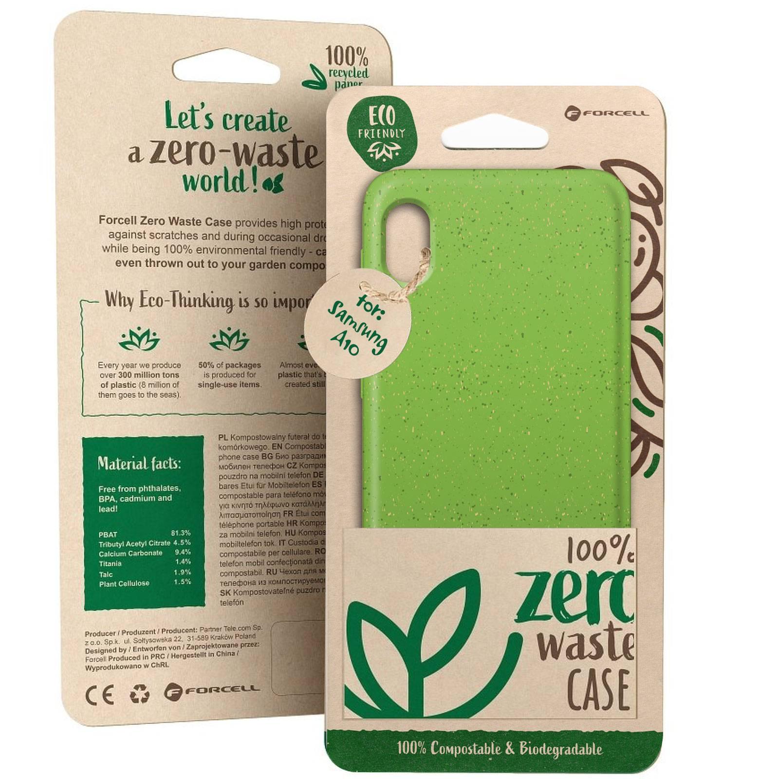 Coque Biodégradable ZERO Waste Samsung Galaxy A10 Vert