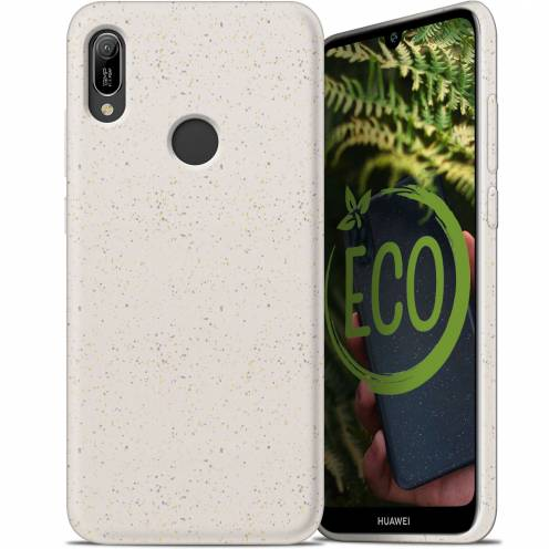 Coque Biodégradable ZERO Waste Huawei Y6 2019 Blanc