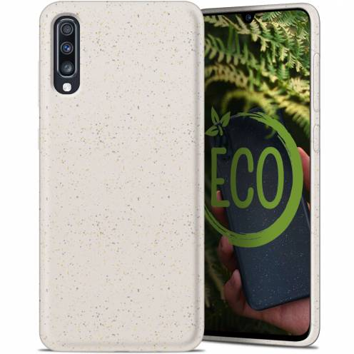 Coque Biodégradable ZERO Waste Samsung Galaxy A70 Blanc
