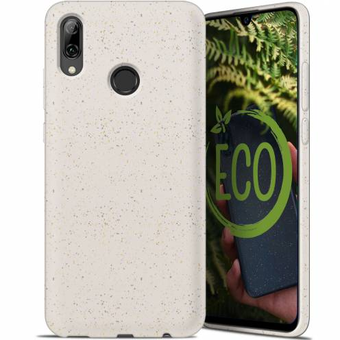 Coque Biodégradable ZERO Waste Huawei P Smart 2019 Blanc