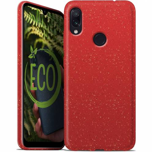 Coque Biodégradable ZERO Waste Xiaomi Redmi Note 7 Rouge