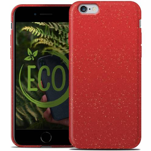 Coque Biodégradable ZERO Waste iPhone 6 / 6S Rouge