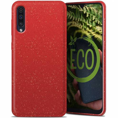 Coque Biodégradable ZERO Waste Samsung Galaxy A30S / A50 / A50S Rouge