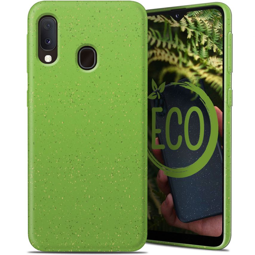 Coque Biodégradable ZERO Waste Samsung Galaxy A20E Vert