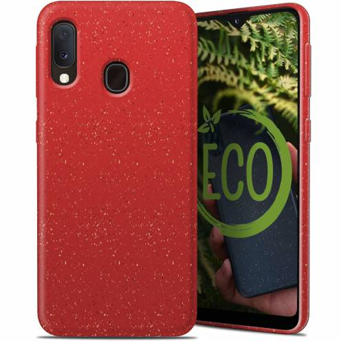 Coque Biodégradable ZERO Waste Samsung Galaxy A20E Rouge