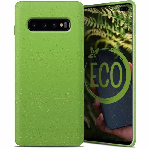 Coque Biodégradable ZERO Waste Samsung Galaxy S10 Plus Vert