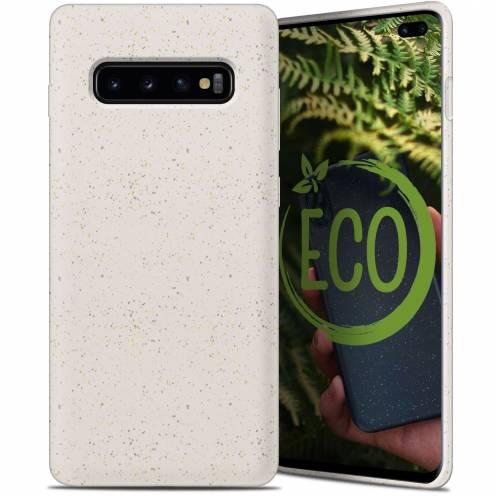 Coque Biodégradable ZERO Waste Samsung Galaxy S10 Plus Blanc