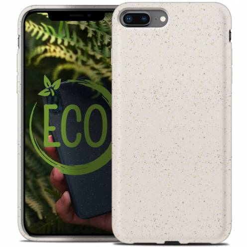 Coque Biodégradable ZERO Waste iPhone 7 Plus / 8 Plus Blanc