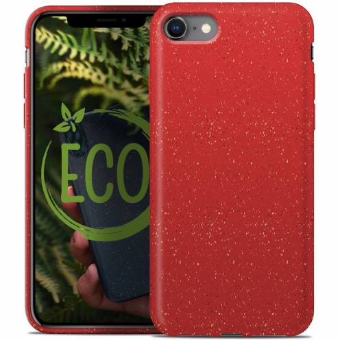 Coque Biodégradable ZERO Waste iPhone 7 / 8 Rouge