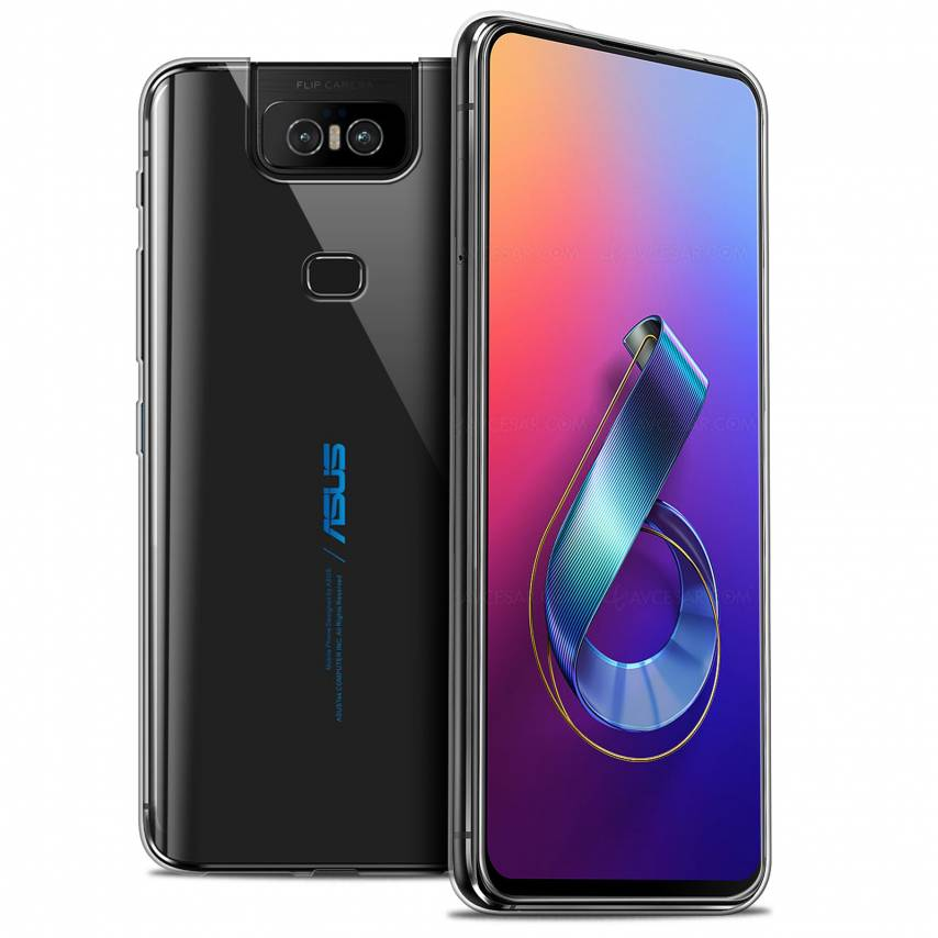 """Coque Asus Zenfone 6 ZS630KL (6.4"""") Extra Fine Souple Crystal Clear"""