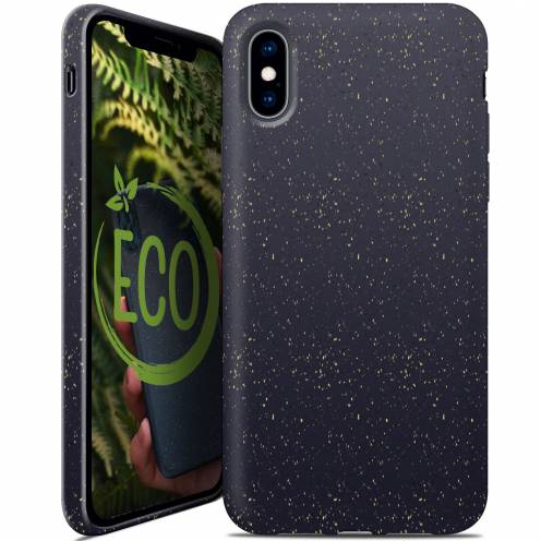 Coque Biodégradable ZERO Waste iPhone XS Max Noir