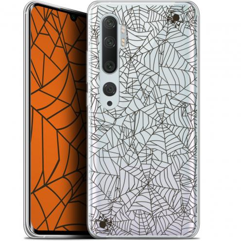 "Coque Gel Xiaomi Mi Note 10 / Pro (6.47"") Extra Fine Halloween - Spooky Spider"