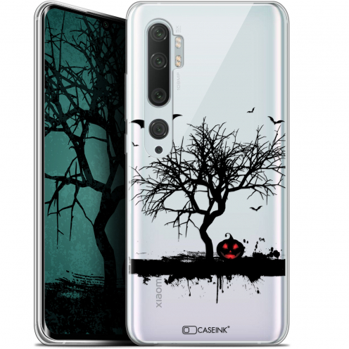 "Coque Gel Xiaomi Mi Note 10 / Pro (6.47"") Extra Fine Halloween - Devil's Tree"
