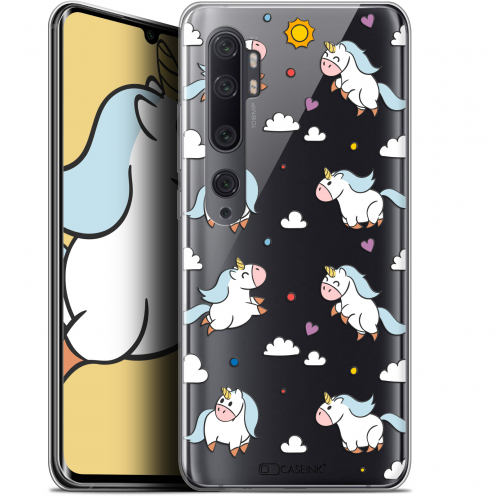 "Coque Gel Xiaomi Mi Note 10 / Pro (6.47"") Extra Fine Fantasia - Licorne In the Sky"