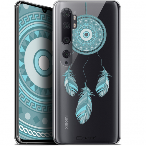 "Coque Gel Xiaomi Mi Note 10 / Pro (6.47"") Extra Fine Dreamy - Attrape Rêves Blue"