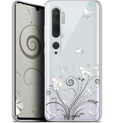 "Coque Gel Xiaomi Mi Note 10 / Pro (6.47"") Extra Fine Summer - Papillons"