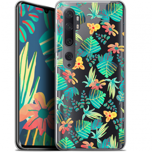 "Coque Gel Xiaomi Mi Note 10 / Pro (6.47"") Extra Fine Spring - Tropical"