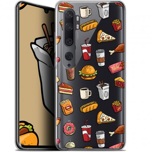 "Coque Gel Xiaomi Mi Note 10 / Pro (6.47"") Extra Fine Foodie - Fast Food"