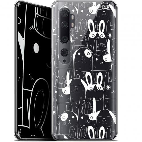 "Coque Gel Xiaomi Mi Note 10 / Pro (6.47"") Extra Fine Motif - Lapin Blanc"