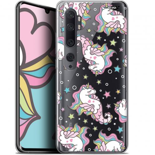 "Coque Gel Xiaomi Mi Note 10 / Pro (6.47"") Extra Fine Motif - Licorne Dormante"