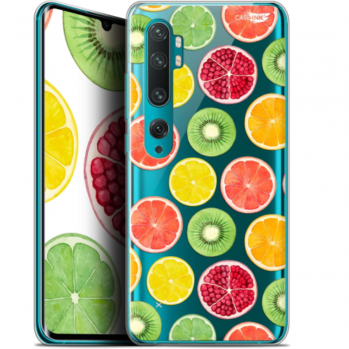 "Coque Gel Xiaomi Mi Note 10 / Pro (6.47"") Extra Fine Motif - Fruity Fresh"