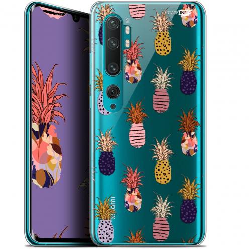 "Coque Gel Xiaomi Mi Note 10 / Pro (6.47"") Extra Fine Motif - Ananas Gold"