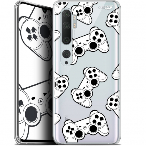 "Coque Gel Xiaomi Mi Note 10 / Pro (6.47"") Extra Fine Motif - Game Play Joysticks"