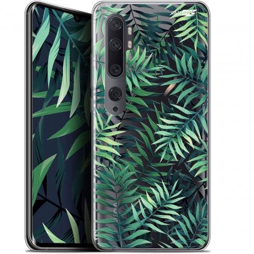 """Coque Gel Xiaomi Mi Note 10 / Pro (6.47"""") Extra Fine Motif - Feuilles des Tropiques"""