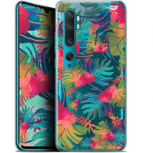 "Coque Gel Xiaomi Mi Note 10 / Pro (6.47"") Extra Fine Motif - Couleurs des Tropiques"