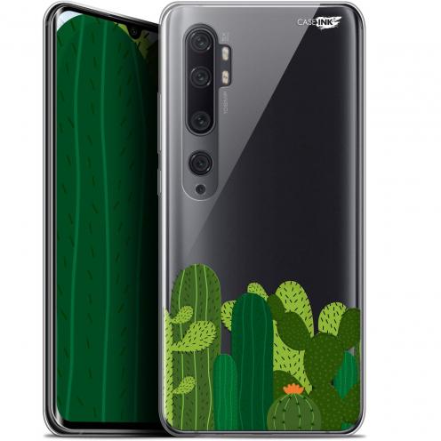 "Coque Gel Xiaomi Mi Note 10 / Pro (6.47"") Extra Fine Motif - Cactus"