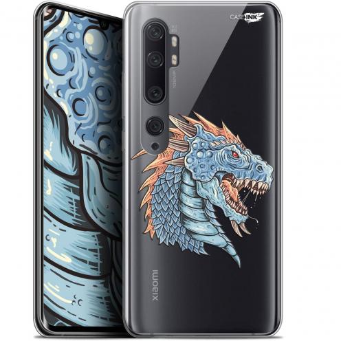 "Coque Gel Xiaomi Mi Note 10 / Pro (6.47"") Extra Fine Motif - Dragon Draw"