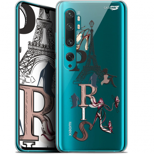 "Coque Gel Xiaomi Mi Note 10 / Pro (6.47"") Extra Fine Motif - Stylish Paris"