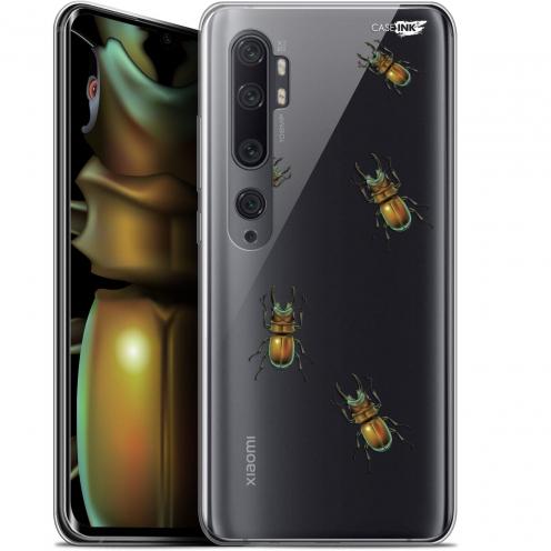 """Coque Gel Xiaomi Mi Note 10 / Pro (6.47"""") Extra Fine Motif - Petits Scarabés"""
