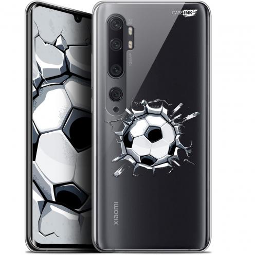"""Coque Gel Xiaomi Mi Note 10 / Pro (6.47"""") Extra Fine Motif - Le Balon de Foot"""